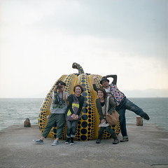 The Humorous Four (TAT_hase!) Tags: sea film kodak c hasselblad portra  planar 160 80mm carlzeiss   66   503cxi