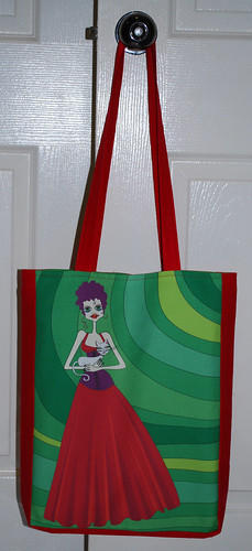 Tote bag - Esmerelda and her cat