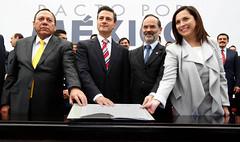 Pacto por México. México, D.F. 2 diciembre 2012.