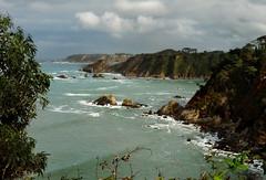 Acantilados de La Caridad (Geli-L) Tags: mar asturias castello acantilado lacaridad elfranco cambaredo