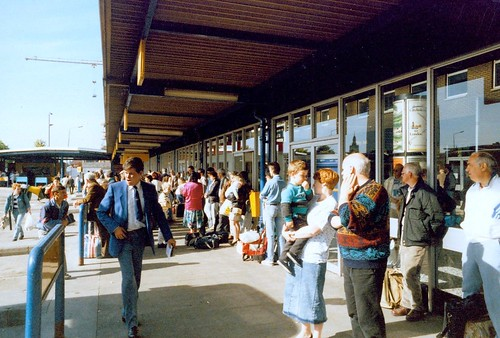 Buchanan bus station Glasgow Fair 1990s