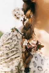 image (DanielleDAZE) Tags: flowers nature beautiful indie braid braidedhair