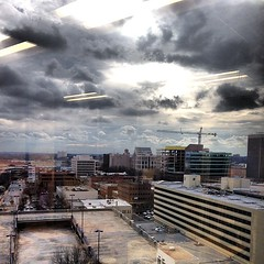 View from our new datacenter in #Greenville