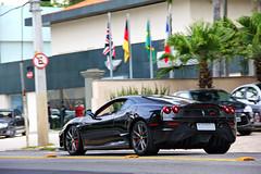 Ferrari 430 Scuderia! (Gustavo Campos - Onehunterr) Tags: brazil brasil ferrari paulo daytona nero scuderia são 430