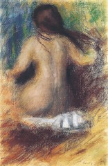 Pierre Auguste Renoir - Nude from the Back, 1879 at Sammlung Rosengart Art Museum Lucerne Switzerland (mbell1975) Tags: from art museum painting nude french schweiz switzerland back europe gallery museu suisse pierre swiss arts luzern musée musee m collection impressionism museo lucerne impression impressionist lucerna muzeum auguste renoir 1879 finearts rosengart müze sammlung museumuseum