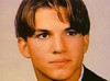Ashton Kutcher before he became famous Supplied by WENN