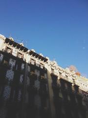Diagonal (sheshakes) Tags: barcelona street city light sunlight lines architecture buildings shadows bcn diagonal