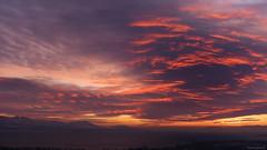 sunset 9.12.12 (anjoyplanet) Tags: pink sunset sky panorama lake colors clouds fire globe purple wide lac lausanne ciel nuages leman lman coucherdesoleil 2012 decembre feux vaste