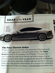 Tesla Model S Electric Car Gear of the Year (Greenlivingguy) Tags: cars greencars electricvehicles electriccars greenliving greenbusiness greenlivingnews