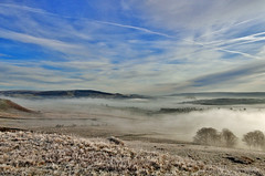 Barden Moor. (johnandco) Tags: mist fog woodland landscapes woods frost day meadows flicker winterscene johnandco johnandcoflickerfarmingfieldsfrost