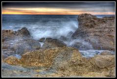 Cala Finestrat HDR (canonixus1) Tags: sea luz beach azul canon playa cielo nubes olas filtros sigma1020 rememberthatmomentlevel1 rememberthatmomentlevel2 canonixus1