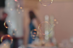 Wedding Bubbles (Serena178) Tags: wedding bokeh bubbles slidersunday