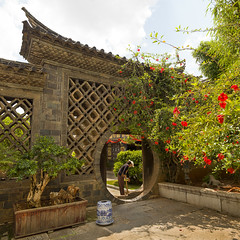 Circular Doorway At Zhu Family House, Jianshui, Yunnan Province, China (Eric Lafforgue) Tags: china door old people house abstract color colour history wall architecture garden circle square outdoors person photography gate asia day outdoor entrance nopeople carving doorway ornate yunnan oneperson buildingfront onepeople traditionalculture eastasia chineseculture realpeople traveldestinations colorimage buildingexterior colorpicture yunnanprovince colourimage 1people residentialstructure traditionallychinese circulardoorway a0006058
