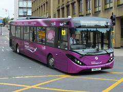 SN16OSF 67099 First Glasgow Airport Express (WesternSMT) Tags: glasgow airport first mmc enviro 2016