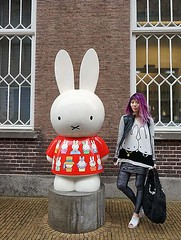 Miffy the Bunny Museum & Cafe, Holland. Soft grunge hair by La Carmina -., GOTHIC LOLITA  HARAJUKU JROCK VISUAL KEI  Tokyo street style, Japan Goth Punk Victorian Steampunk Alternative fashion blogger. Coolhunter. Travel TV host. Author of Jpop book (9lookbook.com) Tags: 90s activewear angkorwat auckland barcelona bohemian brooklyn cambodia contiki cute cyber depop dracula exercise farfetch fashionblog fashionblogger fitness florals futuristic gaudi goth gothic hair haircolor halloween harajuku influencer istanbul japanese japanesefashion kawaii lacarmina leather leopardprint miffy morbidanatomymuseum myswear newzealand nijntje pastelgoth pastelgrunge punk snapchat softgrunge spain staywarmlb travel travelblog vampire yoga blackmilkclothing instagram killstar