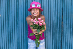 Felicidades guapa!!!    (Nathalie Le Bris) Tags: 7dwf felicidad cumpleaos birthday flor flower fleur