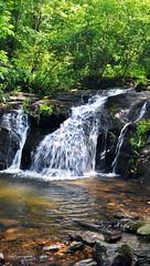 CUPID FALLS 3 (KayLov) Tags: vacation travel mountains ga georgia camping creek river waterfall running flowing moving rushing cupid falls young harris rocks
