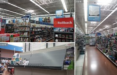 Books & Magazines, Before & After (Explored) (Retail Retell) Tags: hernando ms walmart desoto county retail project impact supercenter store 5419 interior remodel black dcor 20 icons