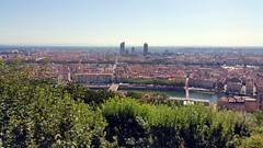 From the Top of Basilic de Fourviere (freddylyon69) Tags: lyon fourvière basilique pointofview buildings panorama august