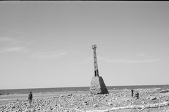 001566650006 (putjka) Tags: kiev4 analog film filmphotography kodak tmax100 bw retro kurmrags lighthouse latvia
