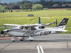 G-RDDM Cessna 182 (Aircaft @ Gloucestershire Airport By James) Tags: gloucestershire airport grddm cessna 182 egbj james lloyds