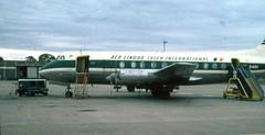 Aer Lingus Vicker Viscount St Fiocre Glasgow Airport 1966 (JimGer947) Tags: aer lingus vicker viscount st fiocre glasgow airport 1966