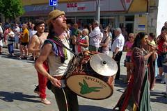 27.8.16 Strakonice MDF Sunday Parade 215 (donald judge) Tags: czech republic south bohemia strakonice mdf dudy bagpipes festival 2016