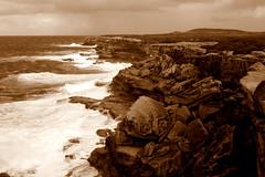 Cape Solander (Peter_Australis) Tags: rocks storm capesolander sea seashore surf waves sydney
