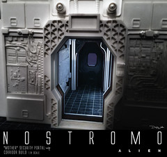 NOSTROMO-Mother-corridor-18 (sith_fire30) Tags: alien nostromo mother muthur6000 sulaco prometheus covenant dallas ash ripley chamber corridor bridge weyland yutani scratch building model making custom action figures toys diorama art sithfire30 dayton allen