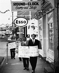 Target Annapolis for civil rights: 1960 (washington_area_spark) Tags: annapolis maryland civil rights segregation jim crow restaurant colonial carry out 1960 sit demonstration protest picket black african american md