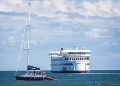 Heading Home (melmark44) Tags: ferry marthasvineyard vineyardhaven woodshole massachusetts sailboat