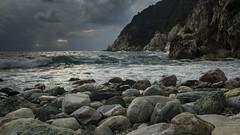 Waves in a Cloudy Morning (George Zarkadis) Tags: damouchari d5200 sigma1750 seawaves  cloudymorning