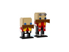 BrickHeadz MOC - Dr Robotnik (AyliffeMakit) Tags: lego brickheadz sonic drrobotnik robotnik eggman moc chibi classic modern legos creation render bluerender