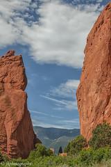 Between the Rocks (jeeprider) Tags: parks rockformations sandstone nature outdoors geology colorado color rocky rocks