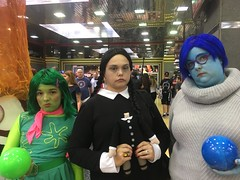 wizard world chicago 2016 (timp37) Tags: disney inside out cosplayers cosplay chicago illinois rosemont wizard world comic con august 2016 nat nathalie wednesday addams family disgust sadness conlife