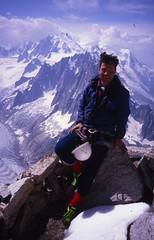 Summit of Petit Dru, After American Direct (andywalker1) Tags: andrewwalker americandirect dru petitdru chamonix alps alpineclimbing