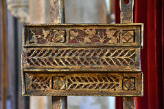 Refectory door latch (L. Charnes) Tags: hearstcastle hardware latch