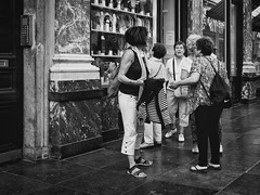 Project 366 - 246/366: Real life chat (sdejongh) Tags: 246366 366 brussels chatting city galleries group instadaily live marble picoftheday project project366 real royal shopping sthubert street talking tourists urban walk women