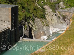 REU230 Stauwehr (Weir Dam) over the Reuss River, Andermatt, Uri, Switzerland (jag9889) Tags: 2016 20160823 alpine andermatt bridge bridges brcke ch cantonofuri centralswitzerland crossing europe flickr helvetia infrastructure innerschweiz kantonuri kraftwerk outdoor pont ponte powerplant puente reuss river schweiz staumauer suisse suiza suizra svizzera swiss switzerland uri weir zentralschweiz jag9889