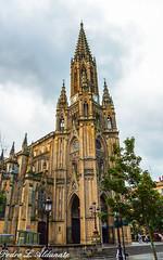 El buen Pastor en  San Sebastin - Donostia (plaizana) Tags: de la catedral se puede destacar esbelta torrecampanario situada sobre el prtico entrada inspira claramente en las agujas colonia conjunto pilastas y contrafuertes rematadas pinculos gabletes rematados cogollos realzan verticalidad todo edificio