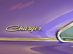 Plush purple (Couldn't Call It Unexpected) Tags: purple dodge charger mopar chrome plush