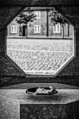 Fire in the hole (MacCabri) Tags: blackandwhite monochrome fire outdoor copenhagen memorial kastellet