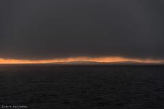 Nordaustlandet 3 (Elvar H) Tags: arcticocean helmerhansen nordaustlandet siarctic fog sunset
