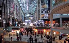 Winter shopping mall (HELLena2007) Tags: shoppingmall center people shopping toronto canada ontario christmas