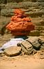 Rocks painted by Jean Vérame, Bardai, Northern Chad (michael_jeddah) Tags: rock chad modernart tibesti bardai jeanvérame