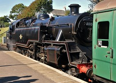 "B.R.Standard ""Class 4"" 80104 (standhisround) Tags: station br engine steam dorset locomotive railways swanage uksteam 80104"