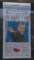 'Re-Elected' -- Chicago (IL) Tribune Headline ...