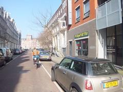 Bike shop (Clark Nikolai) Tags: netherlands amsterdam bicycle nederland fiets fietswinkel