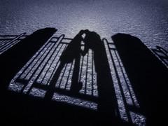 Shadowy Love (Harry2010) Tags: blue lake ice frozen couple frost regina saskatchewan wascanalake
