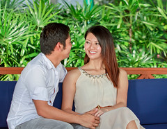 love (Albert Photo) Tags: man love boyfriend girl smile comfortable lady asian happy hope girlfriend couple chinese marriage security well laugh romantic safe caring lover care comfort companion propose